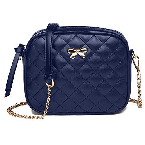 Crossbody Bags for Women Solid Color Shoulder Bag Zipper Closure Satchel Bags Cute Handbags