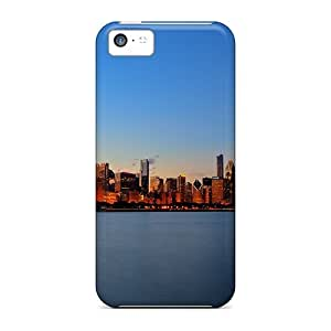 Excellent Design Chicago Skyline Phone Cases For Iphone 5c Premium Cases