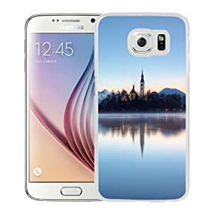 NEW Unique Custom Designed Samsung Galaxy S6 Phone Case With Slovenia Castle Lake_White Phone Case Kimberly Kurzendoerfer