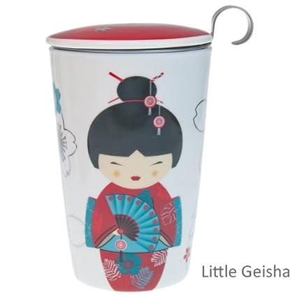 Taza de porcelana pequeña Geisha TEAEVE