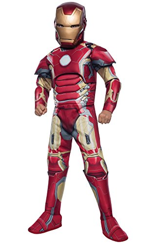 [Rubie's Costume Avengers 2 Age of Ultron Deluxe Iron Man Mark 43 Costume, Large] (Ultron Halloween Costumes)