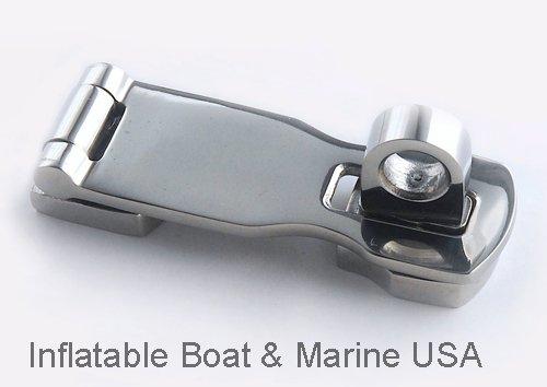 Hasp Swivel Eye - Boat Latch - Swivel Eye Locking Hasp - Hardware- 3