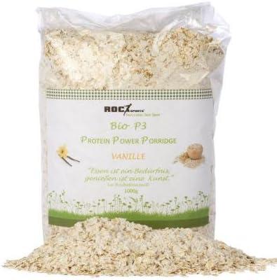 Roc de Sports bio proteína de Porridge Vainilla | 100% BIO | fina copos de avena con más kompon Patos bio Proteínas de polvo | sin edulcorantes., ...