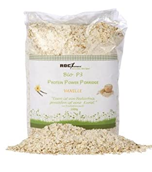 Roc de Sports bio proteína de Porridge Vainilla | 100% BIO | fina copos de
