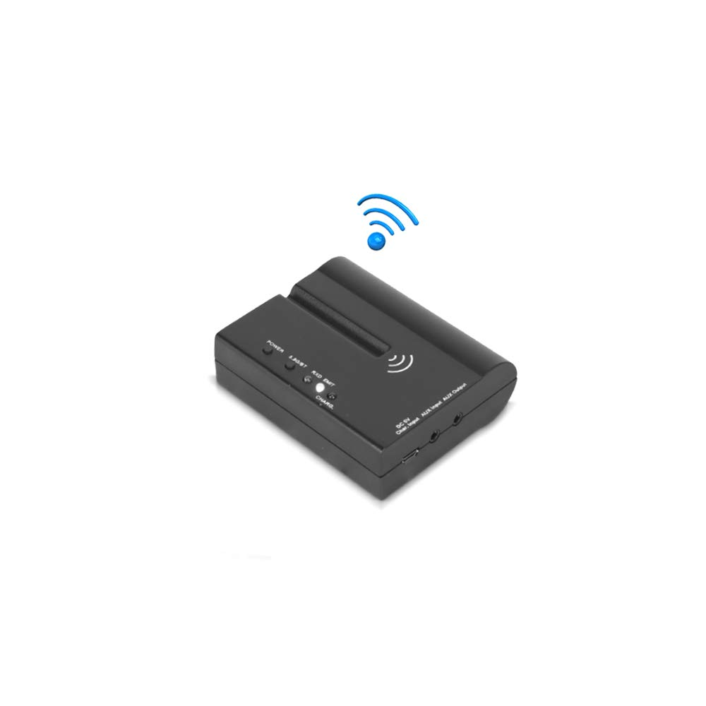 Wireless Audio DJ Sound Receiver - for Pyle PMX6BU Wireless DJ Sound FX Audio Mixer - Includes AUX (3.5mm) Audio Cable and a USB Power/Charge Port - Pyle PRTPMX6BURC