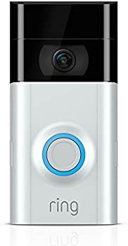 Ring Wi-Fi Enabled Video Doorbell 2 (v2) (Satin Nickel)