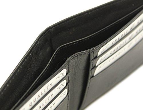 Irish Leather Wallet Black Celtic Wolf Hound Design Ireland Made by Biddy Murphy (Image #3)