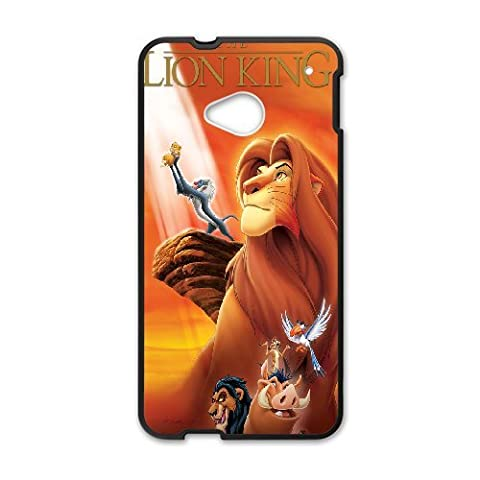 HTC One M7 Phone Case The Lion King Q22Q388992 (Lion King Htc One M7 Case)