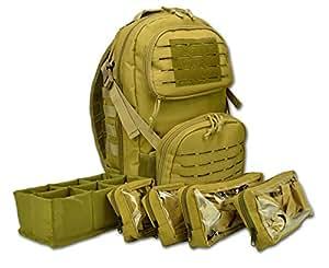 Amazon.com   Lightning X Premium Tactical Medic Backpack w Modular ... 98754d587380c
