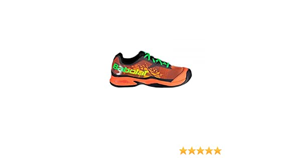 ZAPATILLA DE PADEL BABOLAT JET PADEL JUNIOR 2018 talla 40: Amazon ...