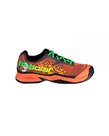 Zapatilla De Padel Babolat Jet Padel Junior 2018 talla 36: Amazon ...