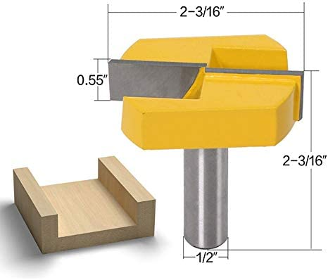 02.01 * 55 Durchmesser Bottom Reinigungs Fräser Holzbearbeitung Fräser