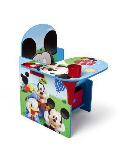 Disney Mickey Mouse CHAIR DESK, Storage Bin KIDS FURNITURE