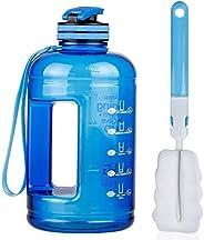 BOGI 1.3 or 2.2L 75oz Large Sport Water Bottle, Half Gallon Water Bottle BPA Free Leak Proof Reusable Anti-Fal