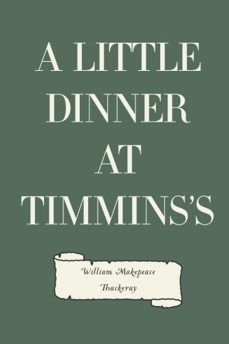 Download A Little Dinner at Timmins's PDF