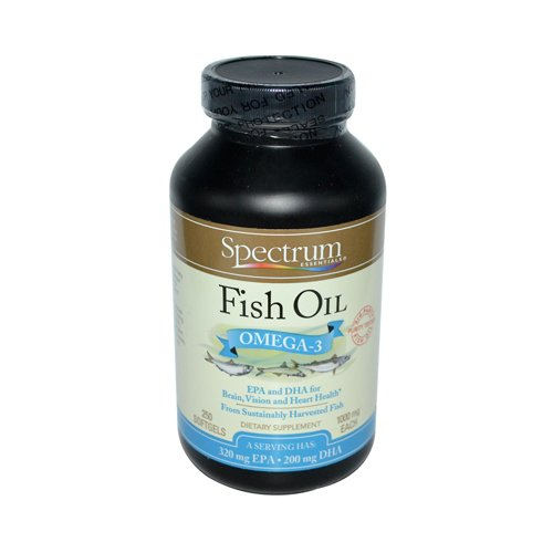 Spectrum Essential Oil Norwgn Fish 1000mg Sg