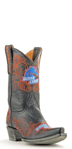 NCAA Boise State Broncos Womens 10-Inch Gameday Boots Black DRYnkBMAWJ