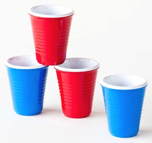 Solo shot novelty melamine mini party plastic cups shot for Small plastic cups