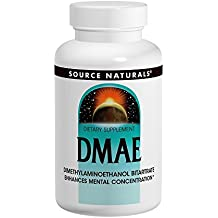 Source Naturals DMAE 351mg Brain Nutrition Support - 200 Tablets