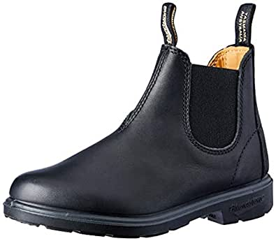 Blundstone Kids Elastic Side Boot, Black, 10