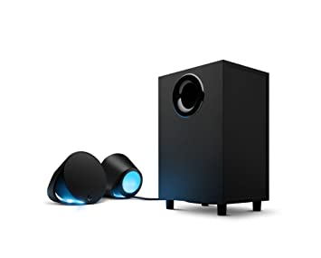 353be697257 Logitech G560 PC Gaming Ultra Surround Sound Speakers with Game Driven RGB  Lighting, UK Plug