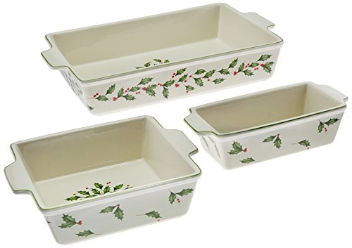 Lenox Holiday Bakeware (Lenox 867265 Holiday Bakeware Set)