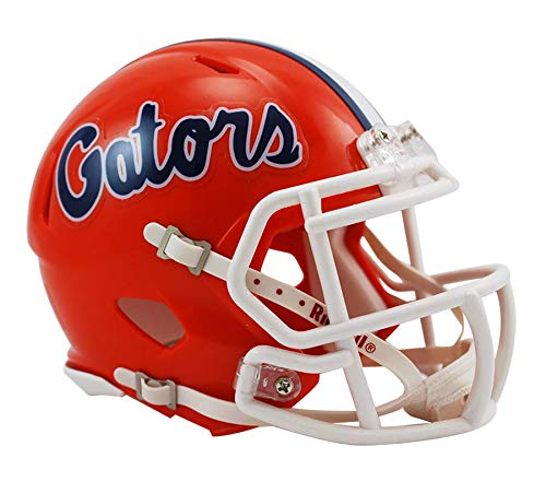 Riddell NCAA Speed Mini Casco, Florida Gators, 7.5' x 6.5'