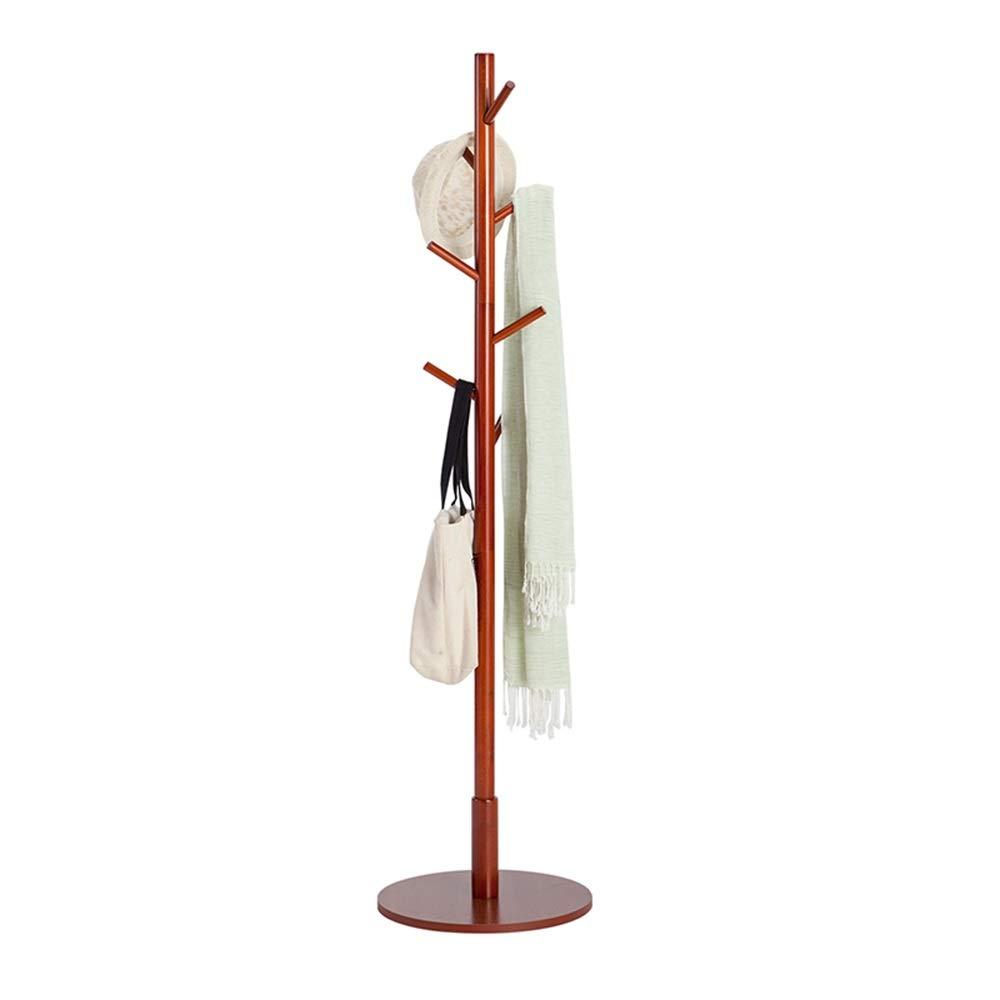Amazon.com: LJHA - Perchero de madera maciza, perchas de pie ...