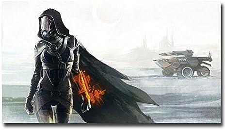 Mass Effect 2 3 4 Game Print Art Silk Poster