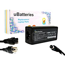 UBatteries Compatible 65W AC Adapter Charger Replacement For HP Part# 463552-002 609939-001 677774-001 677774-002 677774-003 693711-001 724264-001 PA-1650-32HJ PA-1650-39HA PPP009L-E LAC-HC42 Series