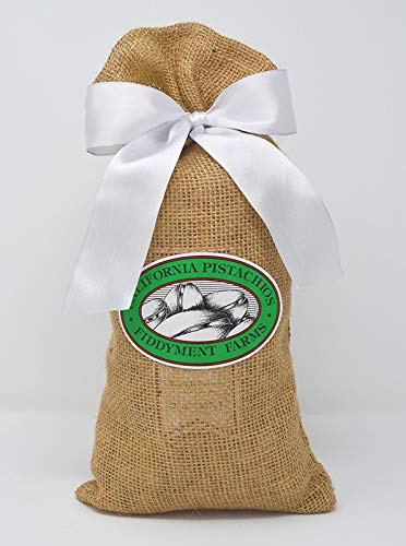 Fiddyment Farms 2 Lbs Lightly Salted Pistachios in Beige Burlap Bag by Fiddyment Farms (Image #2)