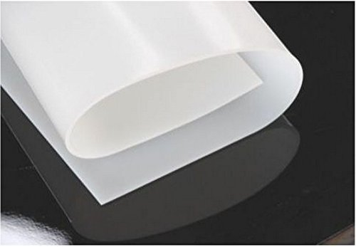 1mm Thicknes 500x500MM Silicone Rubber Sheet Plate Mat High Temp Commercial Grade 20x20