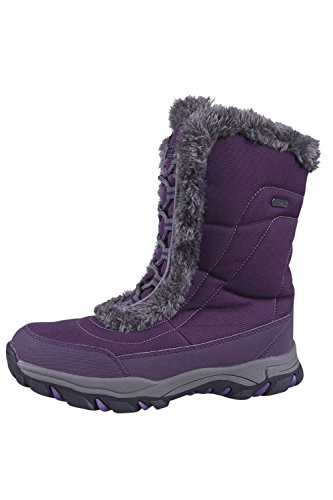 Ideali Neve Donna Warehouse Caldi Ohio per Mountain e Doposci da Invernali Stivali Viola e Impermeabili Pqwn4zt