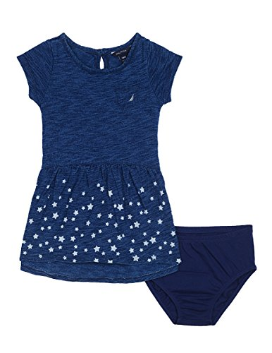 knit a dress for baby - 8