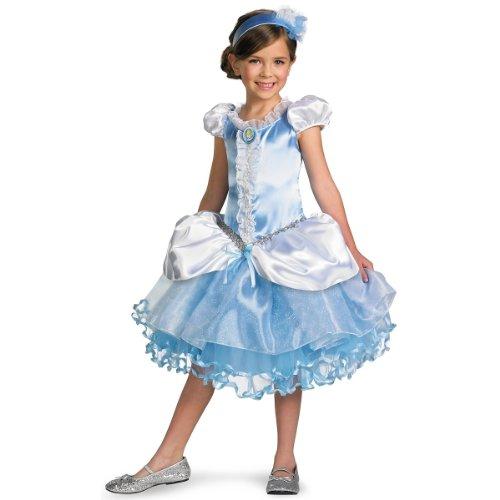 Disney Cinderella Movie Toddler Costumes (Disguise Girl's Disney Cinderella Tutu Prestige Costume, 3T-4T)