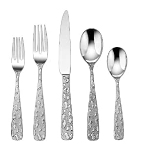 Amazon Com Cuisinart 20 Piece Flatware Set Le Havre