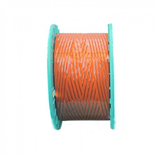 3,280 ft. Polycore Orange Non-Metallic Twist Tie Ribbons (6 Spools) - 10-3280-Orange by Miller Supply Inc