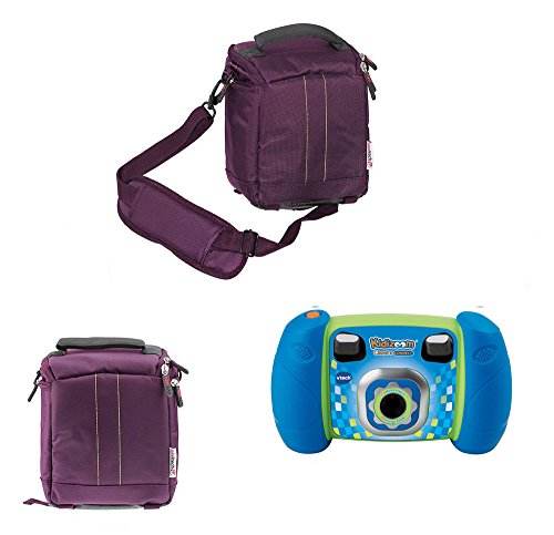 Navitech Purple Protective Portable Handheld Case and Travel Bag for the VTech Kidizoom Spin and Smile