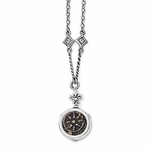 sterling-silver-bronze-antiqued-widows-mite-coin-cz-18-w-3-ext-necklace
