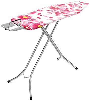 L 124 X W 38 Cm B Brabantia Pink Santini Ironing Board Cover With 4 Mm Foam