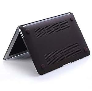 Black Rubberized Matte Hard PC Case Cover For Macbook Pro Retina 13.3 and 13 Inch