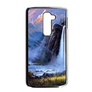 Waterfall LG G2 Cell Phone Case Black UI8292886