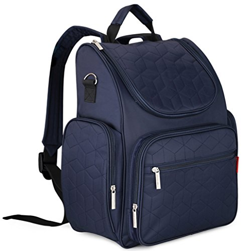 goldwheat-travel-backpack-diaper-bag-for-mom-dad-nappy-tote-bag-with-cushioned-changing-padstroller-