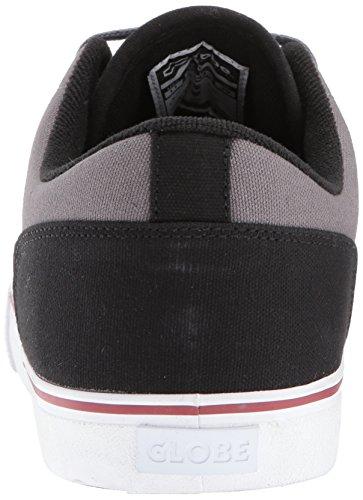 Globe Heren Stam Skate Schoen Grijs / Zwart / Rood