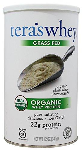 tera's: Organic Whey Protein, Plain, 12 oz