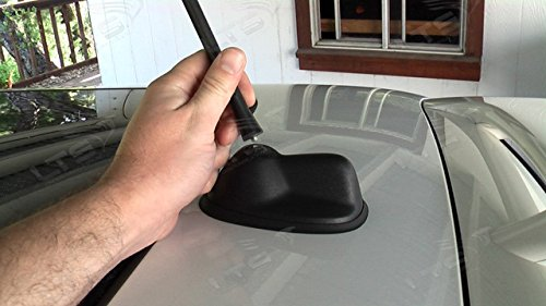 BLACK RUBBER REPLACEMENT AM//FM AERIAL ANTENNA ROOF MAST