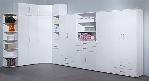 Ikea Allzweckschrank wilmes 40102 75 0 75 schrank ronny mit staubsaugerfach dekor melamin