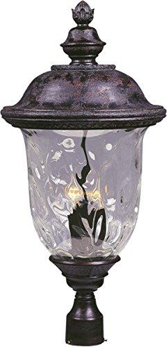 Led 3 Light Outdoor Post Lantern - 9