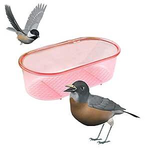 ECMQS - (Color aleatorio) multifuncional de plástico para pájaros ...