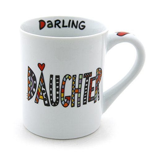 (Our Name is Mud Perfect Daughter Porcelain Mug, 16 oz. )